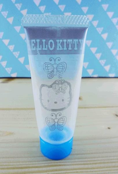 【震撼精品百貨】Hello Kitty 凱蒂貓~KITTY擠壓瓶-藍蝴蝶