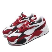Puma 休閒鞋 RS-X3 Super 白 紅 男鞋 女鞋 運動鞋 老爹鞋 【ACS】 37288401