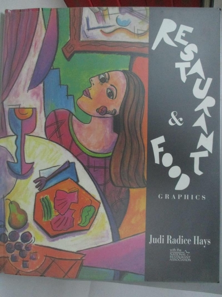 【書寶二手書T3/廣告_DMW】Restaurant & food graphics_Judi Radice Hays