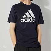 Adidas M BL SJ T 男 深藍 運動 休閒 短袖 GK9122