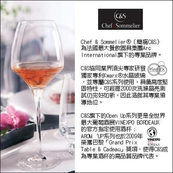 Chef & Sommelier(C&S) / REVEAL UP系列-GOBELET INTENSE 無梗白酒杯-300ml(2入)-J9522
