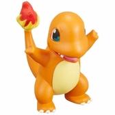 〔小禮堂〕神奇寶貝Pokémon 小火龍 迷你塑膠公仔玩具《橘》寶可夢公仔.模型 4904810-96851