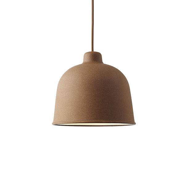 丹麥 Muuto Grain Suspension Lamp 竹纖 圓頂 吊燈