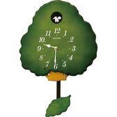 RHYTHM日本麗聲 大樹咕咕鐘-綠/30cm 4MJ413RH