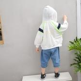 男童防曬衣透氣輕薄寶寶外套兒童防曬服男沙灘防紫外線皮膚衣冰絲
