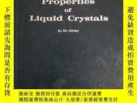 二手書博民逛書店Molecular罕見Structure and the Properties of Liquid Crystal