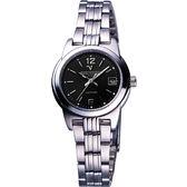 Valentino 范倫鐵諾 輝煌年代經典女錶-黑 SL5107