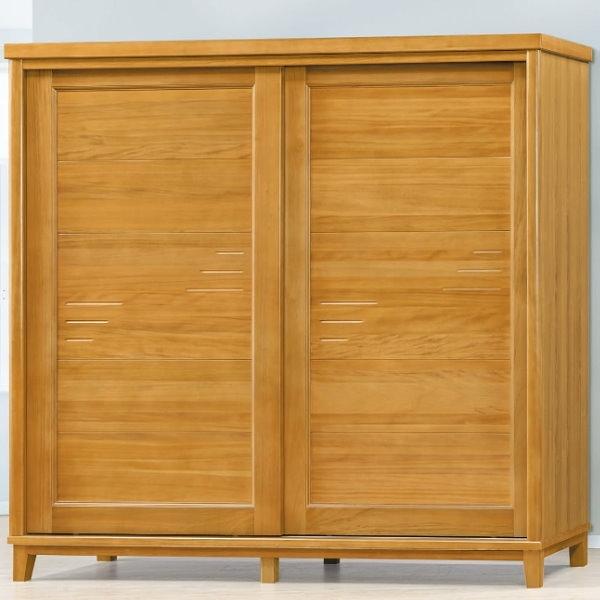 衣櫃 衣櫥 PK-101-1 布洛林樟木色7X7尺衣櫥【大眾家居舘】