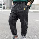 博士衣成童裝男童牛仔褲秋秋裝新款洋氣中大童兒童長褲子潮流 晴天時尚館
