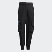 Adidas CNY 女裝 長褲 九分褲 大口袋 縮口 農曆新年 孔雀 黑【運動世界】GQ8840