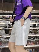 短褲男士五分褲寬鬆休閒褲夏季褲子運動七分韓版潮流港風原宿夏天  米娜小鋪