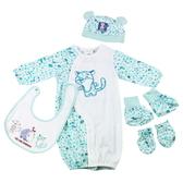 【愛的世界】斑點兩用嬰衣禮盒/3~6個月-台灣製- ★禮盒推薦