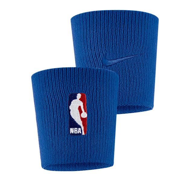 Nike NBA DRI-FIT 小牛 [NKN03471OS] 護腕 腕帶 運動 打球 健身 吸濕 排汗 彈性 藍