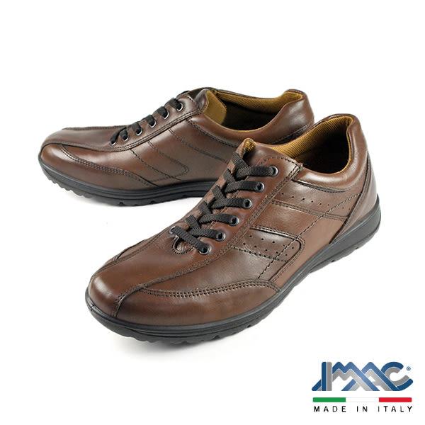 【IMAC】復古氣墊休閒鞋 深咖(50350-DBR)