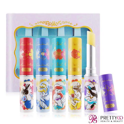 DHC 純橄欖護唇膏-迪士尼花漾公主系列(1.5gX5)[Disney仙蒂/貝兒/茉莉/愛麗兒/白雪公主【美麗購】