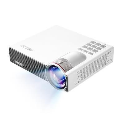 華碩 P3B 800 光超高流明無線短焦內建電池LED 投影機