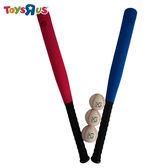 玩具反斗城 MG 27吋PU球棒&棒球套組(1棒含3球)