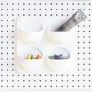 洞洞板專用 置物架 收納架【G0053】inpegboard洞洞板專用磁性收納架 四入口袋 台灣製 收納專科