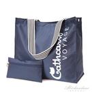 牛津布女包側背包短途旅行包大容量大包出差防水學生行李包帆布包 黛尼時尚精品