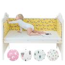 Muslintree嬰兒床防撞床圍 寶寶加厚防摔床墊-JoyBaby
