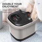 跨境110V 美標家用足浴盆電動洗腳桶足底按摩恒溫熱多功能泡腳盆 樂活生活館