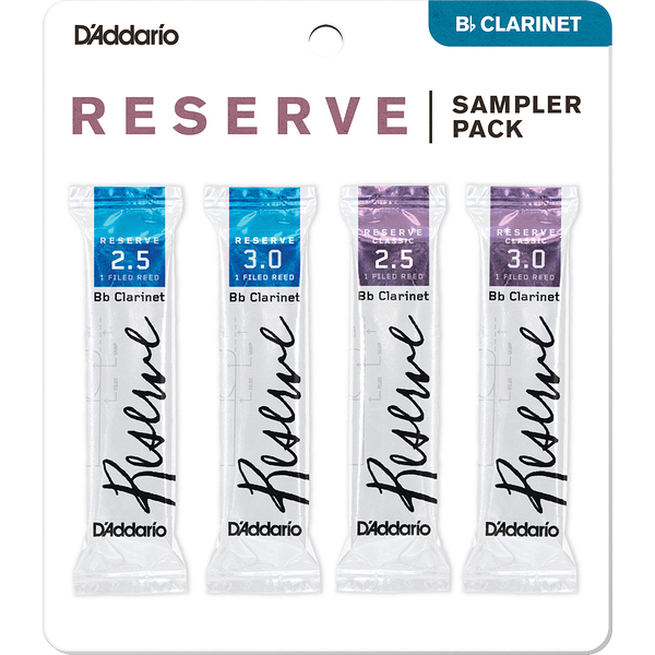 小叮噹的店-D'Addario DRS Reserve Classic Bb 豎笛竹片 RICO 黑管竹片