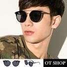 OT SHOP太陽眼鏡‧韓國圓框/復古黑...