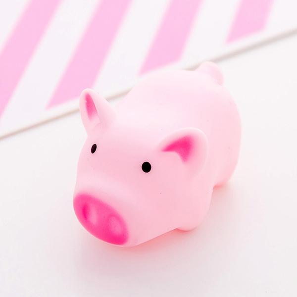 粉色小猪逼逼叫玩具