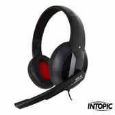 [富廉網] INTOPIC 廣鼎 JAZZ-380  頭戴式耳機麥克風