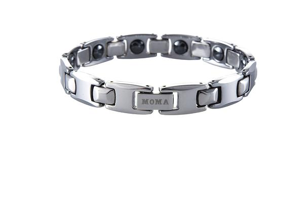 【MOMA】鎢鋼鍺磁手鍊至尊寬版-M82M