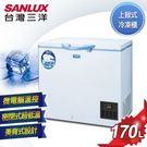 【台灣三洋SANLUX】170L 上掀式超低溫冷凍櫃 TFS-170G