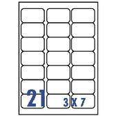 Unistar 裕德3合1電腦標籤紙 (39)US4677 21格 (20張/包)