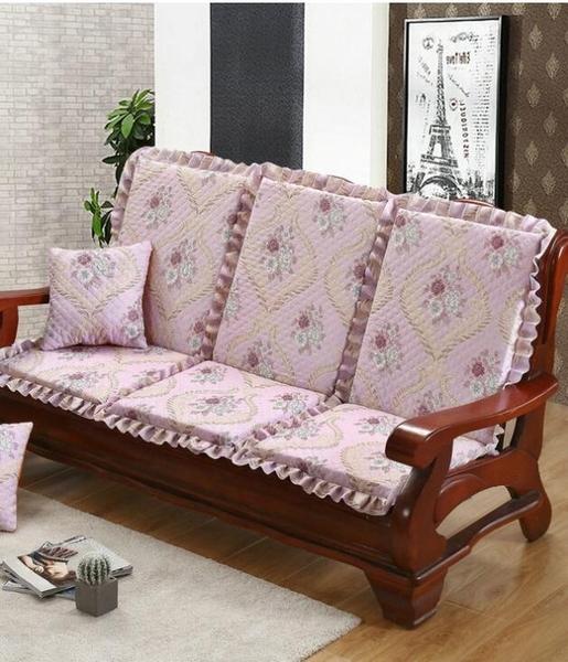 單人座實木沙發墊防滑木椅墊