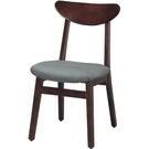 餐椅 CV-755-2 胡桃奧莉薇餐椅【大眾家居舘】
