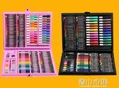 繪畫套裝 兒童畫筆套裝美術學習用品畫畫工具繪畫蠟筆水彩筆開學玩具禮物YYJ 青山市集