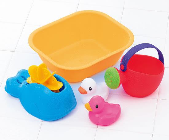 Toyroyal樂雅 Flex洗澡系列-歡樂小鴨水車組