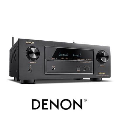 DENON 天龍 AVR-X2300W 7.2聲道 4K Ultra HD 網路劇院擴大機 內建WiFi 藍牙及高階影像處理