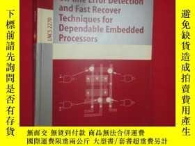 二手書博民逛書店On-罕見Error Detection and Fast Re