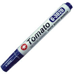【奇奇文具】Tomato G-3020 藍色 無毒性白板筆