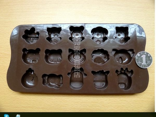 [協貿國際]  耐高溫矽膠巧克力模具  2個價