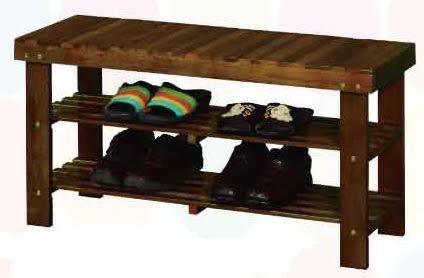 【南洋風休閒傢俱】鞋櫃系列 – 實木鞋架 三尺坐鞋箱 換鞋椅 實木玄關鞋櫃 (CY286)