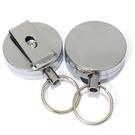 [拉拉百貨] 金屬伸縮鑰匙扣 高回彈伸縮 鋼絲繩鑰匙環 防丟防盜伸縮鑰匙錬 防丟鑰匙扣 易拉扣
