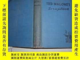 二手書博民逛書店英文原版:Ted罕見Malone s Scrapbook(精裝)