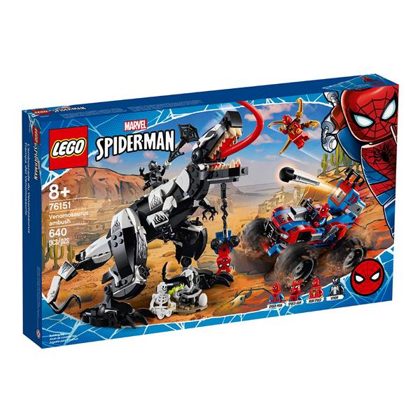 76151【LEGO 樂高積木】超級英雄 Super Heroes 系列 - 猛毒恐龍伏擊 Venomosaurus Ambush (640pcs)