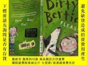 二手書博民逛書店Dirty罕見Bertie:Fleas 骯臟的伯蒂: 蚤~Y200392