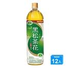 黑松茶花綠茶1230mlx12【愛買】