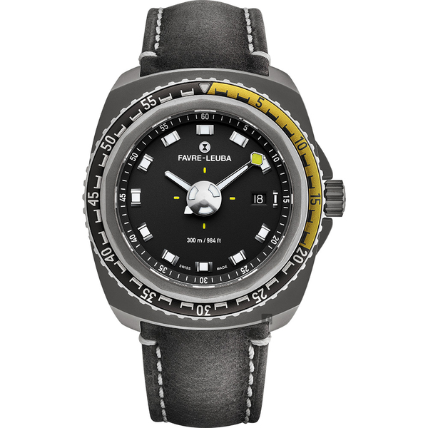 FAVRE-LEUBA 域峰 RAIDER Deep Blue 300米潛水機械錶-41mm 00.10106.10.14.45