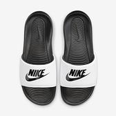 Nike Victori One Slide [CN9675-005] 男鞋 運動 休閒 拖鞋 柔軟 緩震 穿搭 白 黑