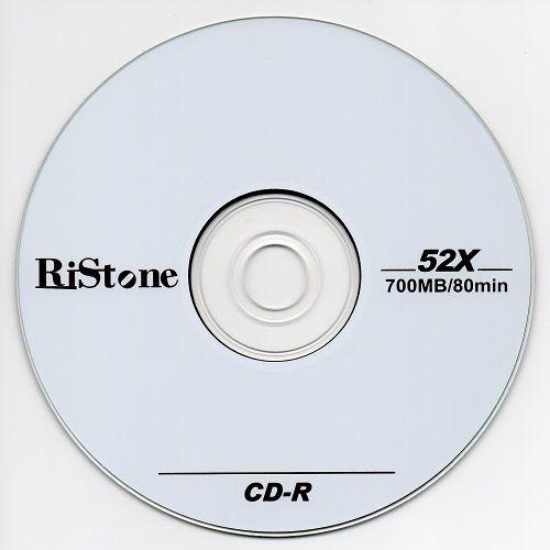 ◆0元運費◆RiStone 空白光碟片 日本版 A+ CD-R 52X 700MB 光碟空白片x 50P裸裝