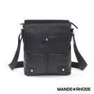 MANDE RHODE - 巴弗洛 - 頂級牛皮條紋造型斜側背休閒包 - X98804